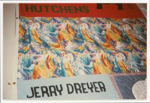 Primary view of object titled '[AIDS Memorial Quilt Panel for Jerry Dreyer and James Binion Hutchens]'.