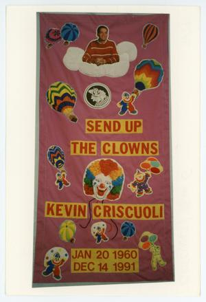 Primary view of object titled '[AIDS Memorial Quilt Panel for Kevin G. Criscuoli]'.