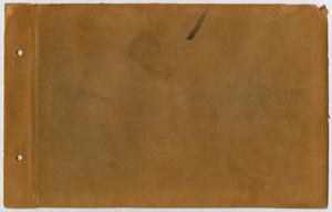 Primary view of object titled '[Beulah Harriss scrapbook]'.