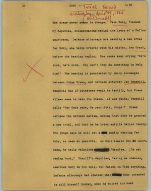 Primary view of object titled '[News Script: Ruby]'.