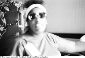 Primary view of object titled '[Woman Wearing Sunglasses]'.