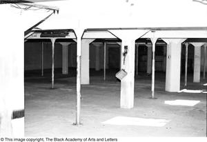 Primary view of object titled '[Interior of Lamar St. Building]'.