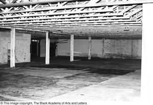 Primary view of object titled '[Interior Space in Lamar St. Building]'.
