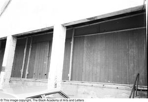 Primary view of object titled '[Exterior of Lamar St. Building]'.