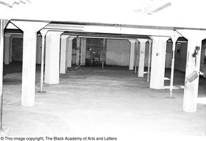 Primary view of object titled '[Empty Room in Lamar St. Building]'.