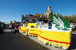Primary view of object titled '[Sonic Drive-Thru Parade Float]'.