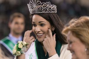 Primary view of object titled '[2014 UNT Homecoming Royalty]'.