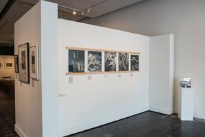 Primary view of object titled '[Photos on Exhibit Wall]'.