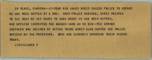 Primary view of object titled '[News Script: No title]'.