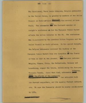 Primary view of object titled '[News Script: ECC]'.