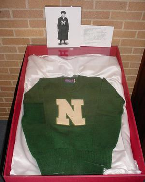 Primary view of object titled '[Women's North Texas Sweater]'.