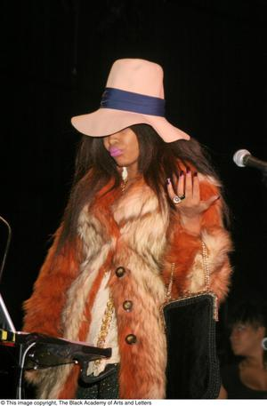 Primary view of object titled '[Erykah Badu Live]'.