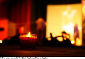 Primary view of object titled '[Candle Lit for Ali Performance]'.