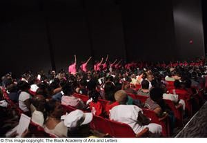 Primary view of object titled '[Audience of Aretha: The Musical]'.