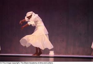 Primary view of object titled '[Dancer in white dress]'.
