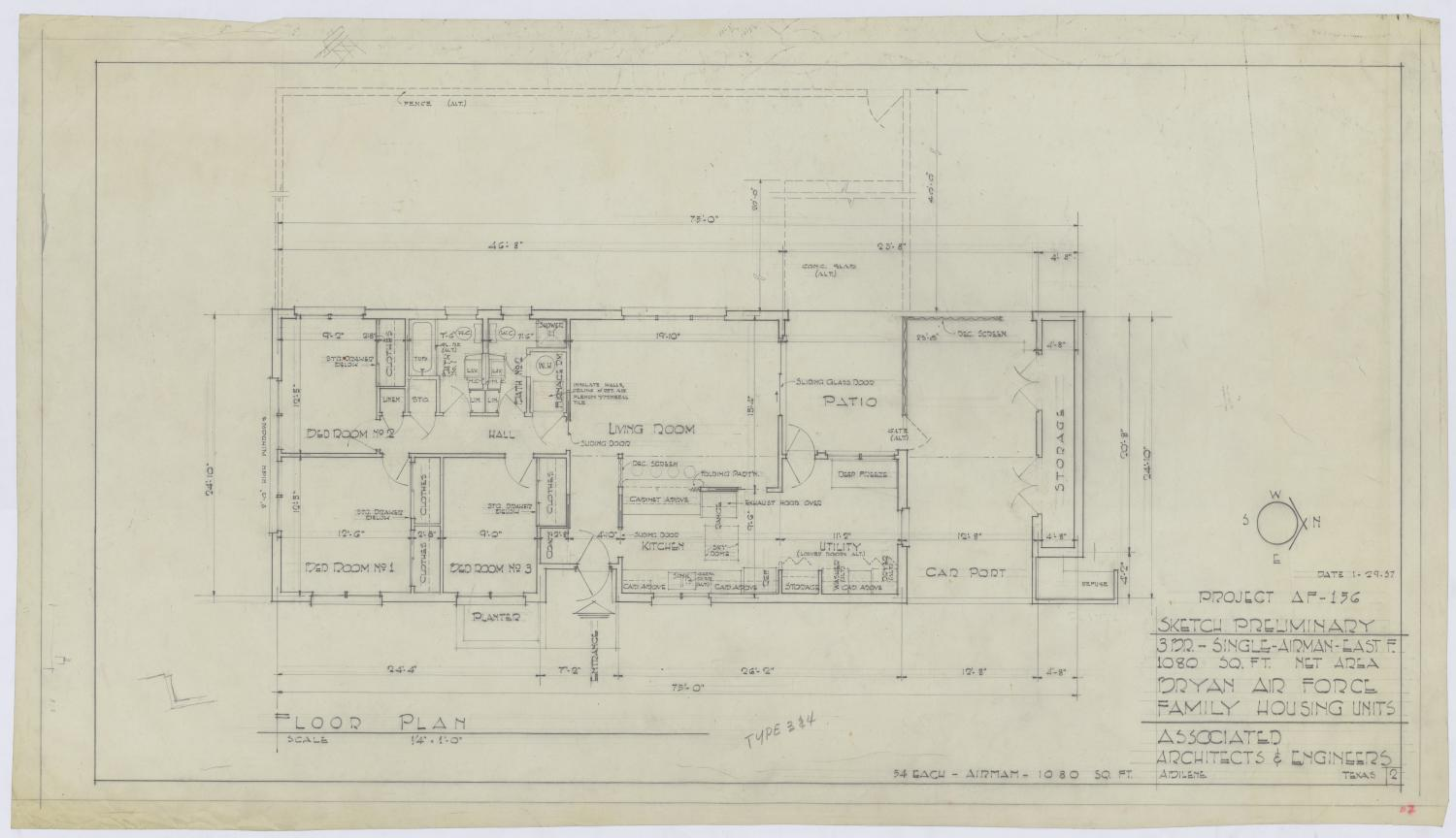 Bryan Air Force Base Housing Floor Plan The Portal To Texas History,Table Engagement Decoration Ideas At Home