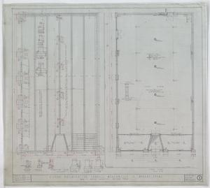 Campbell Mercantile Co. Store, Munday, Texas: Foundation & Floor Plans