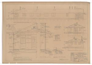 Primary view of object titled 'Army Mobilization Buildings: Elevations & Sections'.
