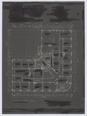 Primary view of object titled 'Rhodes & Chapple Office Building, Midland, Texas: Third Floor Plan'.