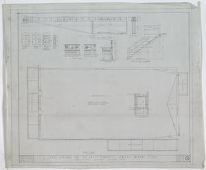 Baker-Campbell Company Store, Munday, Texas: Roof Plan