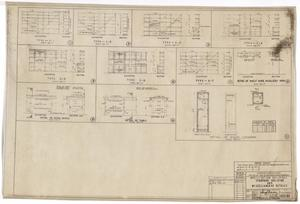 Primary view of object titled 'Army Mobilization Buildings: Elevation Drawings'.