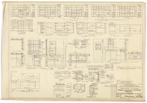 Primary view of object titled 'Army Mobilization Buildings: Miscellaneous Interior Details'.