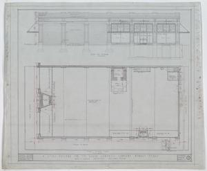 Baker-Campbell Company Store, Munday, Texas: First Floor Plan