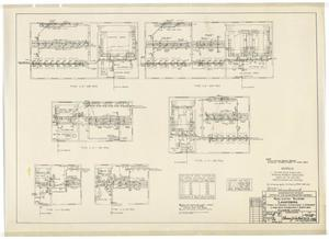 Primary view of object titled 'Army Mobilization Buildings: Plumbing Layouts'.
