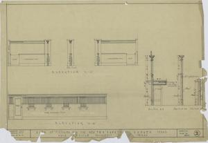 Primary view of object titled 'F & M Bank, Ranger, Texas: Elevation Renderings'.