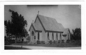 Primary view of object titled '[Holy Comforter Church - Angleton, TX.]'.
