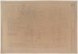 An Administration Building For The Abilene Independent School District, Abilene, Texas: Air Conditioning Floor Plan