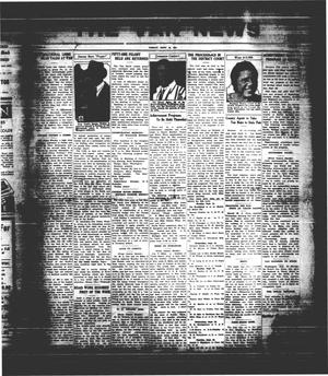 Primary view of object titled 'The Van News (Wills Point, Tex.), Vol. [3], No. [39], Ed. 1 Friday, September 18, 1931'.