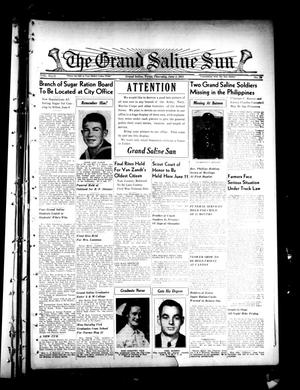 Primary view of object titled 'The Grand Saline Sun (Grand Saline, Tex.), Vol. 49, No. 30, Ed. 1 Thursday, June 4, 1942'.