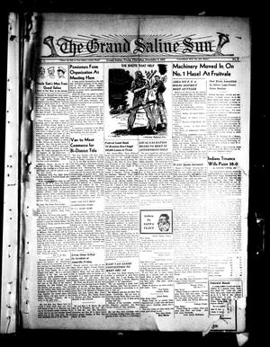 Primary view of object titled 'The Grand Saline Sun (Grand Saline, Tex.), Vol. 50, No. 3, Ed. 1 Thursday, December 3, 1942'.