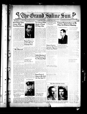 Primary view of object titled 'The Grand Saline Sun (Grand Saline, Tex.), Vol. 49, No. 22, Ed. 1 Thursday, April 9, 1942'.
