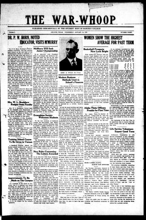 The War-Whoop (Abilene, Tex.), Vol. 1, No. 8, Ed. 1, Wednesday, January 16, 1924