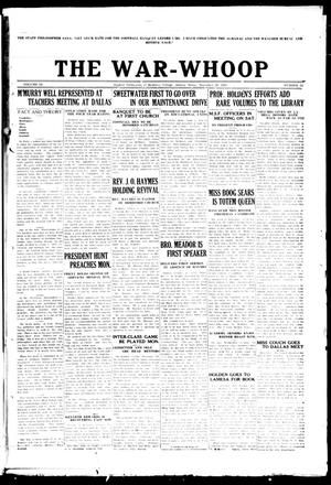 The War-Whoop (Abilene, Tex.), Vol. 3, No. 12, Ed. 1, Saturday, December 5, 1925