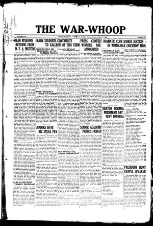The War-Whoop (Abilene, Tex.), Vol. 3, No. 21, Ed. 1, Saturday, March 6, 1926