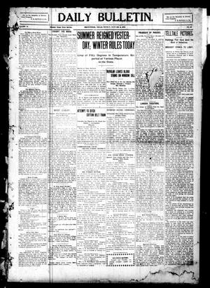 Primary view of Daily Bulletin. (Brownwood, Tex.), Vol. 10, No. 66, Ed. 1 Monday, January 3, 1910