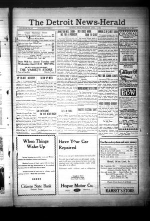 Primary view of object titled 'The Detroit News-Herald (Detroit, Tex.), Vol. 4, No. 2, Ed. 1 Thursday, April 9, 1931'.