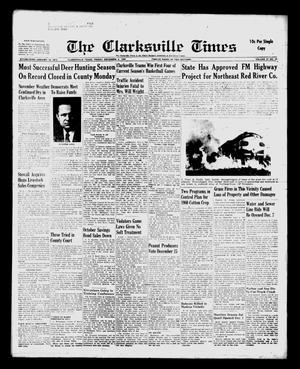 Primary view of object titled 'The Clarksville Times (Clarksville, Tex.), Vol. 87, No. 46, Ed. 1 Friday, December 4, 1959'.
