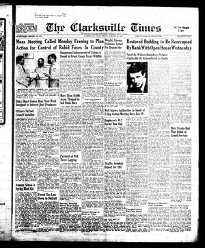 Primary view of object titled 'The Clarksville Times (Clarksville, Tex.), Vol. 86, No. 1, Ed. 1 Friday, January 24, 1958'.