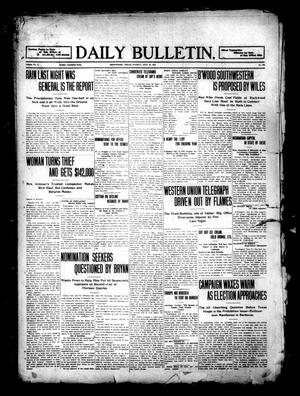 Primary view of object titled 'Daily Bulletin. (Brownwood, Tex.), Vol. 11, No. 232, Ed. 1 Tuesday, July 18, 1911'.