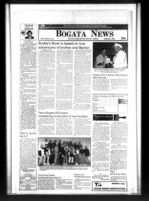 Primary view of object titled 'Bogata News (Bogata, Tex.), Vol. 87, No. 46, Ed. 1 Thursday, March 26, 1998'.