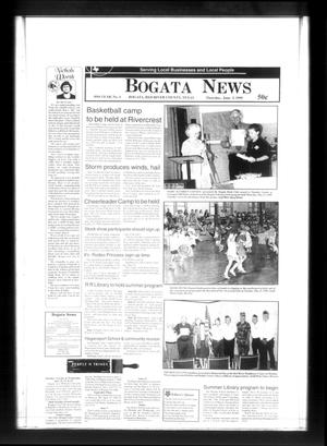 Primary view of object titled 'Bogata News (Bogata, Tex.), Vol. 89, No. 4, Ed. 1 Thursday, June 3, 1999'.