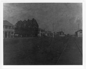 Primary view of object titled '[Hoxie Street - Palestine, Tx]'.