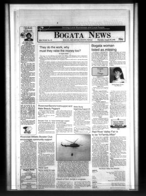 Primary view of object titled 'Bogata News (Bogata, Tex.), Vol. 88, No. 15, Ed. 1 Thursday, August 20, 1998'.