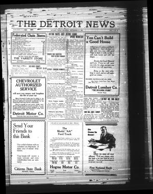 Primary view of object titled 'The Detroit News (Detroit, Tex.), Vol. 1, No. 24, Ed. 1 Thursday, September 13, 1928'.