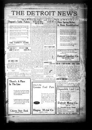Primary view of object titled 'The Detroit News (Detroit, Tex.), Vol. 2, No. 1, Ed. 1 Thursday, April 4, 1929'.