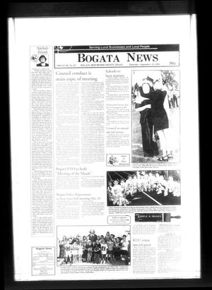 Primary view of object titled 'Bogata News (Bogata, Tex.), Vol. 89, No. 20, Ed. 1 Thursday, September 23, 1999'.